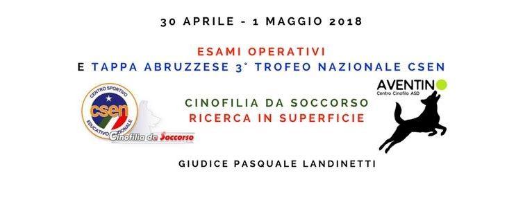 Tappa Trofeo Nazionale Superficie tappa Abruzzese.