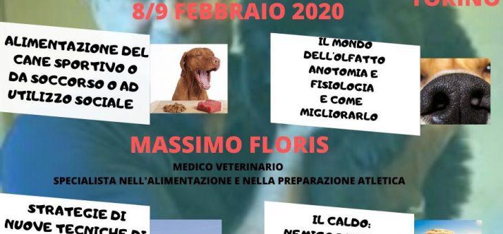 Stage con Massimo Floris 8/9 Febbraio a Torino