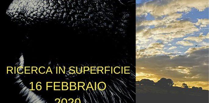 Tappa di operatività in superficie Roma 16 Febbraio 2020